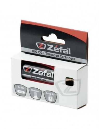 BLISTER 2 CARTUCHOS DE AIRE ZEFAL CO2...