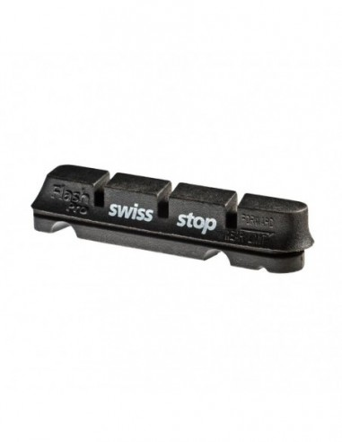 KIT 4 ZAPATAS SWISSSTOP FLASH  NEGRO...