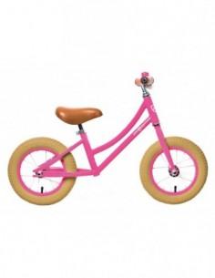 bicicleta aprendizaje rosa rebelkidz