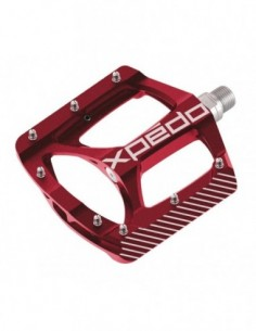 """PEDALES XPEDO ZED 9/16""""ROJO"""