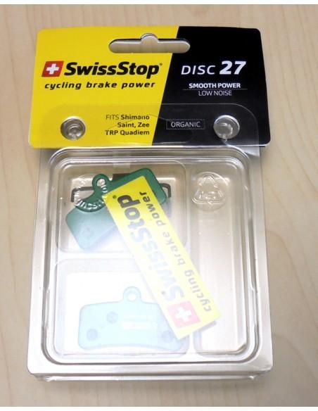 pastillas de freno orgánicas SwissTop Disc 27