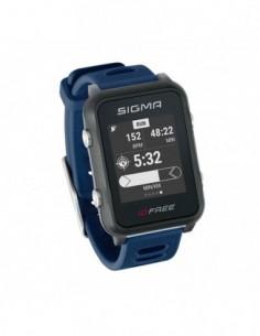 RELOJ + GPS SIGMA ID.FREE AZUL