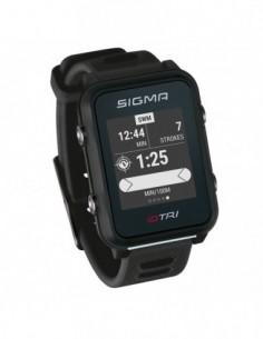 RELOJ + GPS SIGMA ID.TRI NEGRO