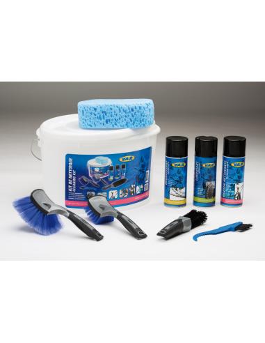 VAR Kit de limpieza con cepillos
