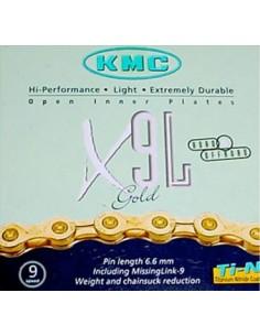 Cadena KMC X9L Gold 9v