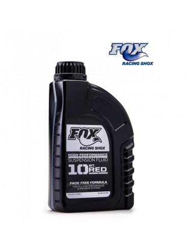 Aceite horquilla Fox 10WT rojo 946 ml
