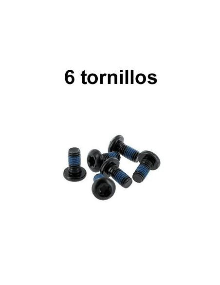 6 tornillos